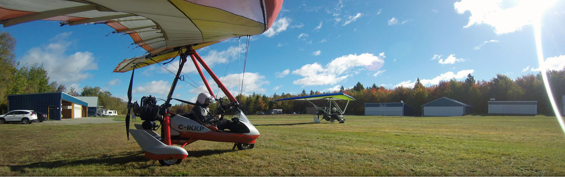 ULP Aviation Flight School for ultralight aircraft Quebec